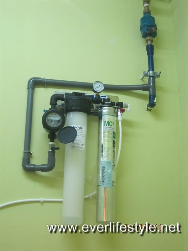 Restaurant water filter penang malaysia for Everpure water treatment system